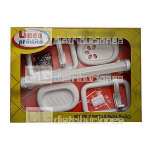 Accesorios Plasticos Blancos Para Ba O Cg Distribuciones